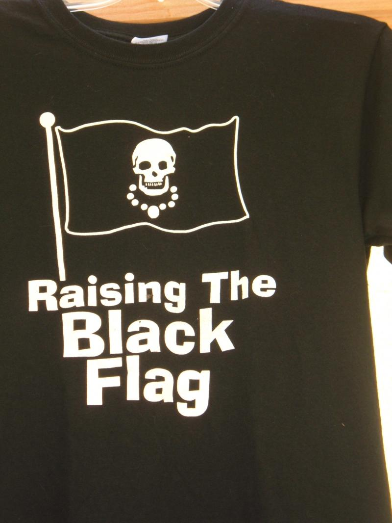 blackbead raising the black flag